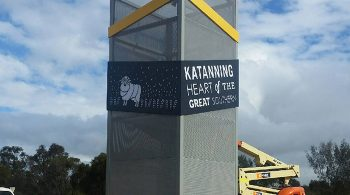 Katanning Entry Statement Towers